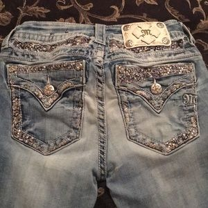 Miss Me Bottoms - Miss me jeans size 25